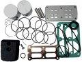 Рем.комплект для компрессора AB100-360 (фильтр, клапанная плита в сборе, н-р прокладок, н-р поршней (2шт) FIAC 4086480000