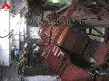 Вагоноопрокидыватель боковой стационарный ВБС-93 для механизации разгрузки большегрузных железнодорожных полувагонов грузоподъемностью до 93 тн, пр-во Днепротяжмаш. Украина