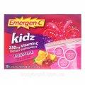 Emergen-C, для детей, фруктовый пунш, 30 пакетиков, 9,7 унций (2,6 гр)