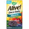 Мультивитамины для мужчин Nature's Way, Alive! Раз в день, 60 таблеток