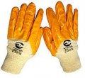 Перчатки рабочие на трикотажной основе с нитриловым покрытием. размер 10