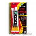 Герметик прокладок силиконовый черный (Black) 260°С без запаха 85г 9-(BL) Zollex