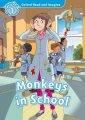 Книга Monkeys in School with Audio CD