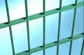 2D reinforced fence: section 2.03x2.5m Øhoriz. 2x8mm, Øvertik. 6mm, galvanized polymer coated double rod fence