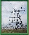 Металлические опоры и траверсы линий электропередач