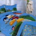 Комплект полуторного евро сатинового постельного белья ТМ UG