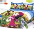 Комплект полуторного постельного белья Машенька ТМ KESSAR POLLO