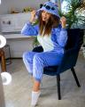 Пижама Кигуруми Стич синий ( взрослые и детские размеры )
