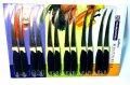 Набор кухонных металлических ножей 12 штук в наборе Tramontina (220mm)
