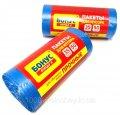 Мусорные пакеты 35 литров Бонус+ 50 шт/уп, синие
