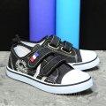 Кеды подростковые черные джинсовые Super Gear 23,0, 36, 36