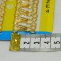 №4 крючки, застежки для одежды Sindtex золотые 24шт (653-Т-0101)