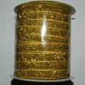 10 Бархатная люрексовая лента (1см.) моток 46м., золото (657-Л-0115)