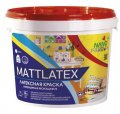 Интерьерная акриловая латексная краска моющая Mattlatex Nano farb 14 кг
