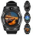 Умные смарт-часы Smart Watch V8 черные