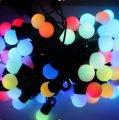 Гирлянда шарики средний шарик 80шт LED Длина 4,5 м
