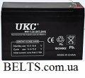UKC аккумулятор 12V 12A, аккумуляторная батарея 12 вольт 12 Ампер (УКС)
