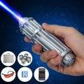 Лазерная указка с насадками Blue Laser B017 50000mW