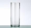 Ваза для цветов цилиндр, стеклянная 24024