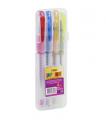 Ручки гелевые с блеском