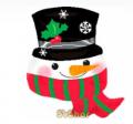 Воздушный Шар Фигура Снеговик в шляпе