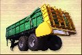 Machine for solid organic fertilizers RTD-14 tons (Trailer)