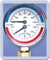 Манометры с термометром