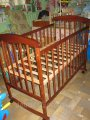 """Кроватка детская деревянная """"Наталка""""."""