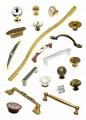 Furniture handles (in classical style Giusti, Besana), (with Swarovski Giusti crystals), (design Pamar), in HighTech Juliani style