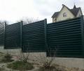 Забор металлический (Жалюзи)