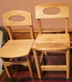 Стульчики деревянные для детей в наличии и под заказ. Сумская обл.