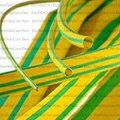 Трубка термоусадочная, 6.0/2.0мм, жёлто-зелёная, 1м