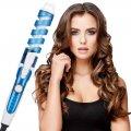 Спиральная плойка для завивки волос perfect curl RZ118 | стайлер для волос Синяя