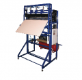 The automatic machine for production of bags and packages from a polyethylene film.