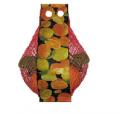 Упаковка в полимерные сетки овощей и фруктов
