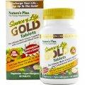 Мультивитамины Вегетарианские, Source of Life Gold, Natures Plus, 90 таблеток
