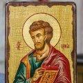 Икона Лука Апостол (на дереве)