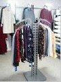 Cистема мебели для магазинов одежды  `Квадро`