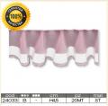 Лента розовая, кружевная, собранная, h-4.5 см (20м)