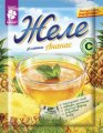 Jelly with pineapple flavor, 90g