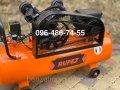 Ременной воздушный компрессор Rupez CS 100л 640л/мин 3.5кВт Италия