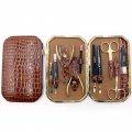 Маникюрный набор Queen (Zinger) 10 предметов футляр кожа