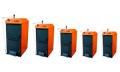 Водогрейные чугунные котлы UNI 3 (13-16,5кВт), UNI 4 (19,5-20кВт), UNI 5 (24-28кВт), UNI 6 (27-35кВТ), UNI 6 (27-35кВт), UNI 8 (33,8-53кВТ) для сжигания твердых видов топлива - древесина, черный уголь, кокс, брикеты