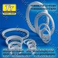 Прокладки фторопласта для фланцев а-200-16-ф гост 15180-86 (вырезка прокладок по размерам заказчика за 1 час)