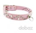 Нашийник для собак Baby Pink Clusters