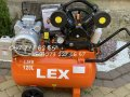 Компрессор воздушный LEX LXAC280-120 5500 Вт 880 л/мин