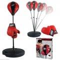 Детский тренажер для бокса Sport Toys Punching Ball   напольная боксерская груша на подставке + перчатки