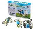 Конструктор робот на солнечных батареях Solar Robot 14 в 1 | Игрушка робот для ребенка