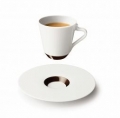 Комплект керамических чашек с блюдцами RITUAL ESPRESSO