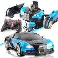 Машинка Трансформер Bugatti Robot Car на пульте БОЛЬШОЙ РАЗМЕР
